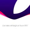 Keynote de rentrée d'Apple dès 19 heures