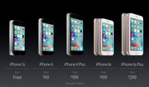 comparatif cout iphone
